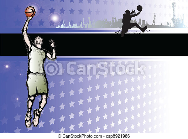 passion of basketball - csp8921986