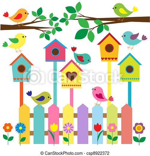 birdhouses - csp8922372