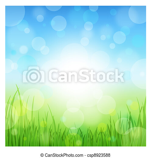 Summer Abstract Background  - csp8923588