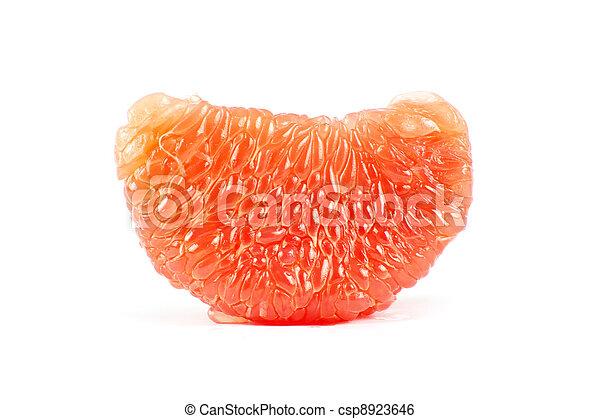 halves grapefruit  - csp8923646