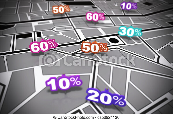 Location based marketing - csp8924130