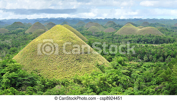 Chocolate Hills - csp8924451