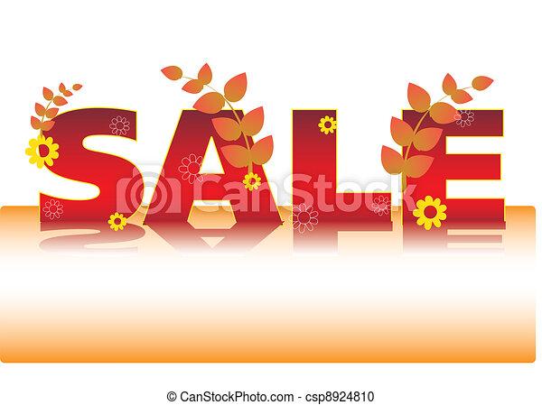 winter sale vector - csp8924810