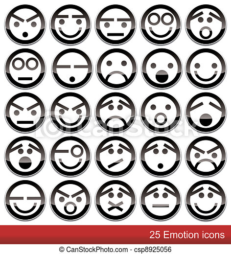 Emotion icons - csp8925056