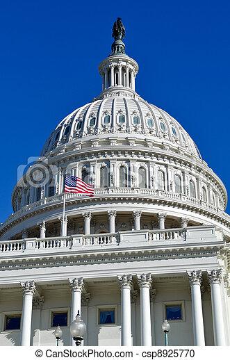 Washington DC Capitol Hill Dome - csp8925770