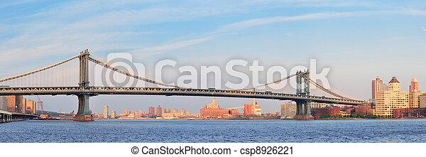 New York City Bridges - csp8926221