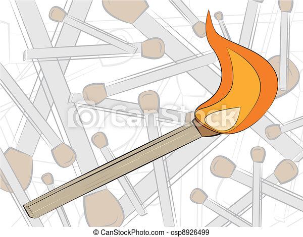 match in fire - csp8926499