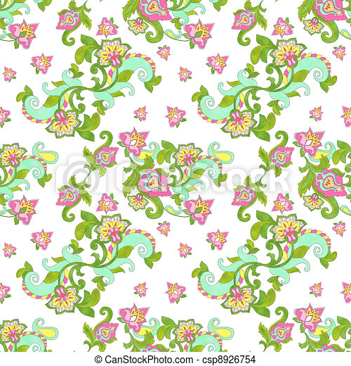 Seamless Floral Pattern - csp8926754