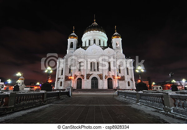 Moscow - Church of Christ the Savior - csp8928334