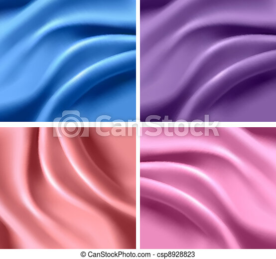Set of elegant colorful backgrounds - csp8928823