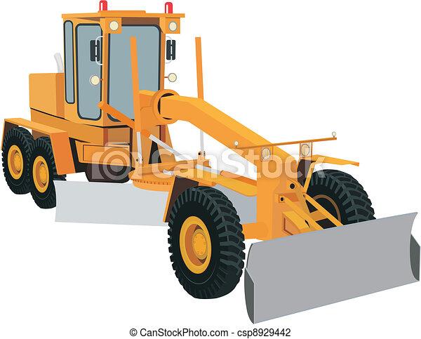 Grader - csp8929442