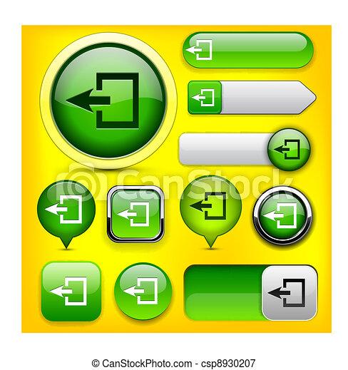 Logout Button Logo Logout High-detailed Web