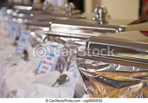 Buffet heated trays   - csp8930530