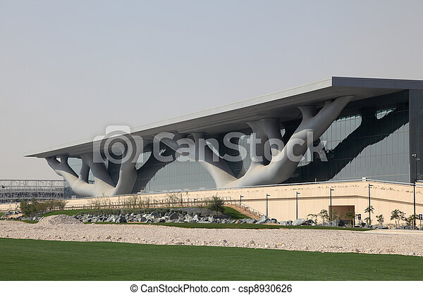 Convention Center in Doha, Qatar. Photo taken at 7th of January 2012 - csp8930626