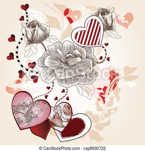 fantasy valentine composition - csp8930722