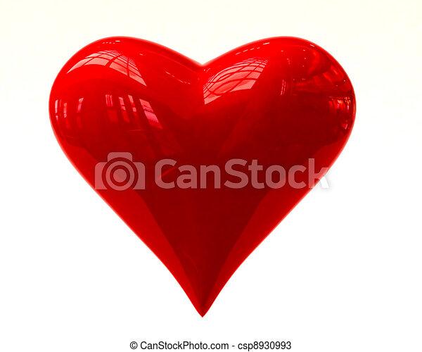 Shining heart - csp8930993