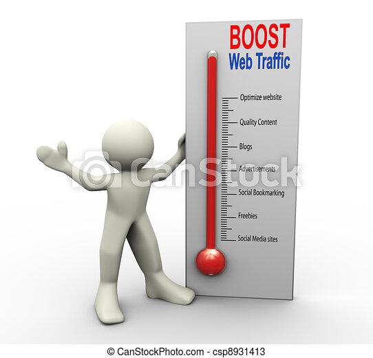 Boost web traffic - csp8931413