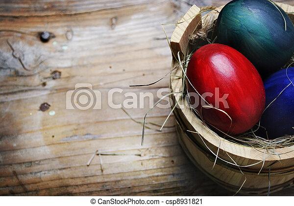イースター, 卵 - csp8931821