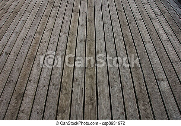 Grooved wooden planks for texture or background  - csp8931972