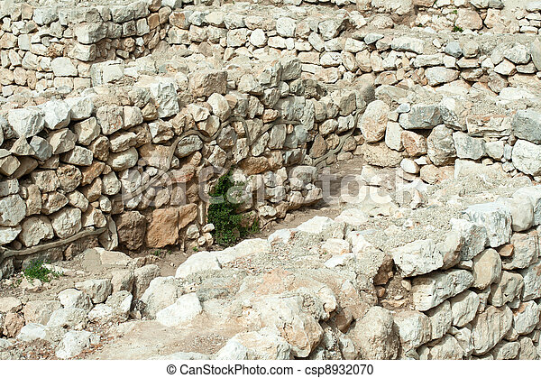 Archaeological excavations - csp8932070