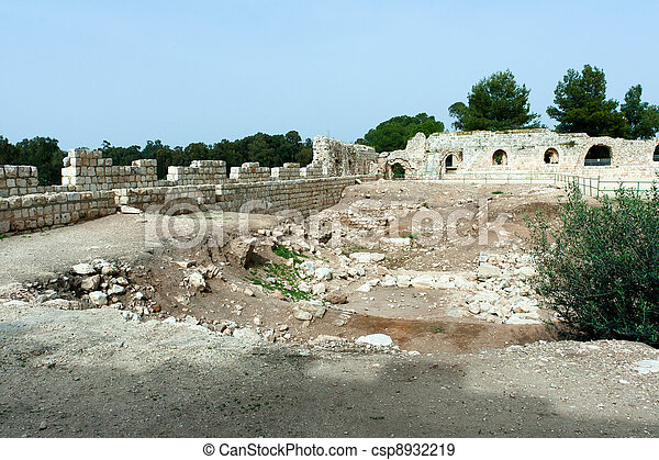 Archaeological excavations - csp8932219