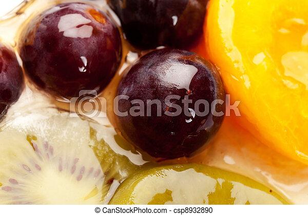 fruity cake topping - csp8932890