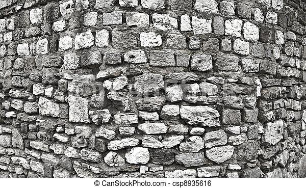 Wall HDR Photograph Series 2 - csp8935616