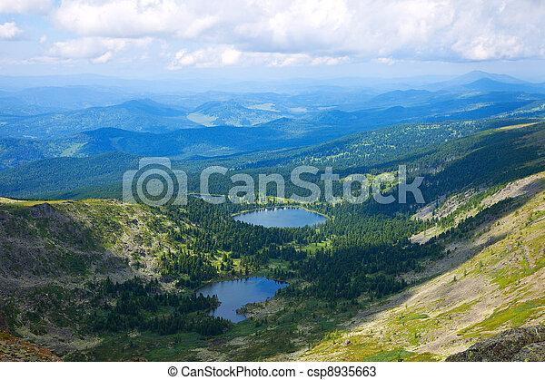 Altai mountains. Russia - csp8935663