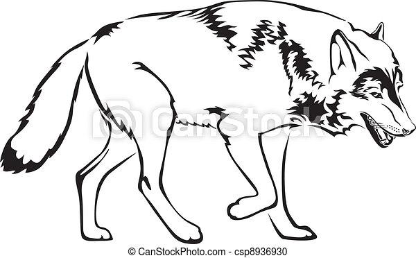 contour of wolf - csp8936930