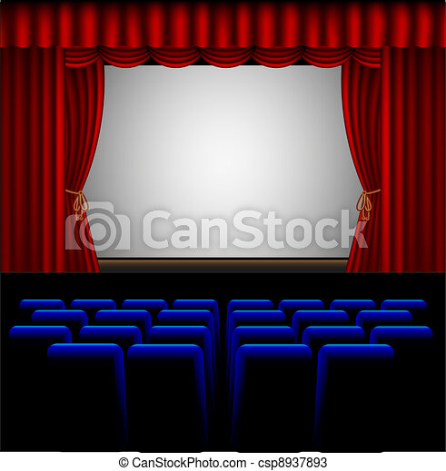 movie theater - csp8937893