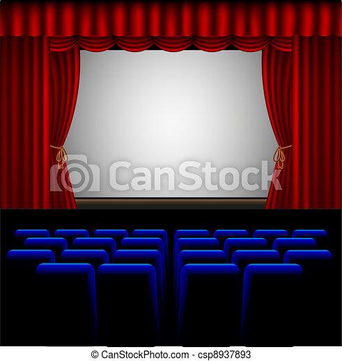 movie theater - csp8937893