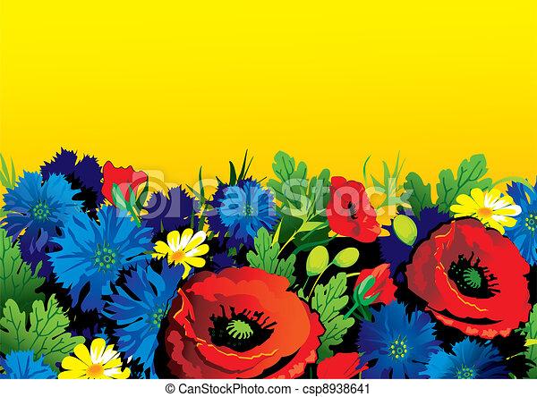 Flowers. - csp8938641