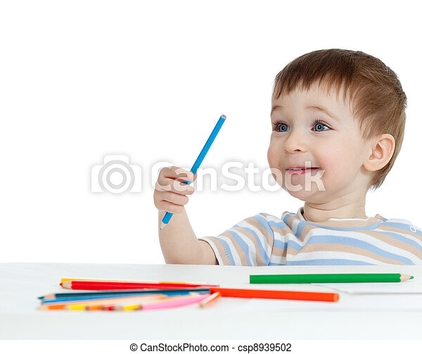 photo de rigolote crayons gar on couleur b b dessin. Black Bedroom Furniture Sets. Home Design Ideas
