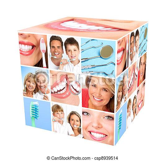 Teeth whitening. - csp8939514