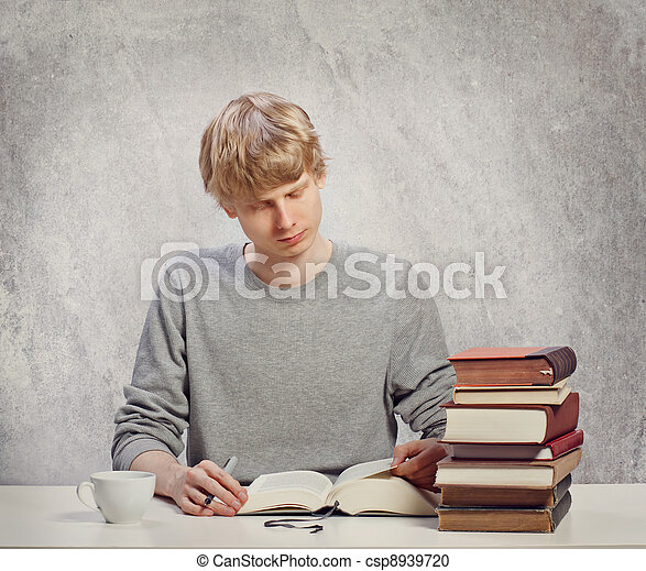 Young Adult Reading - csp8939720