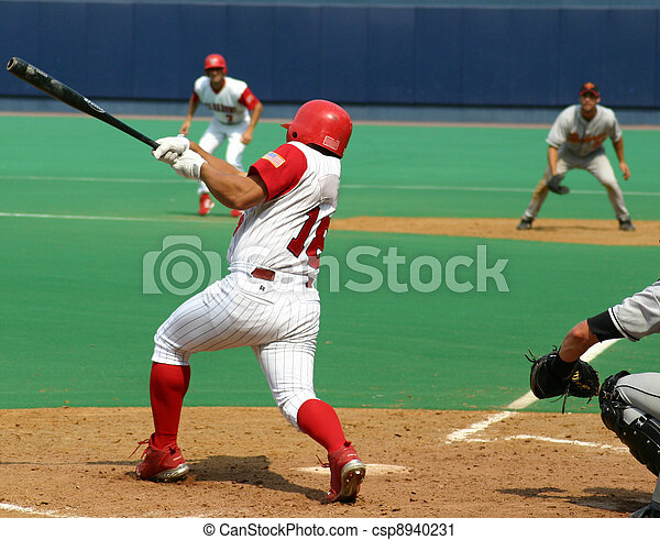 Right-handed batter - csp8940231