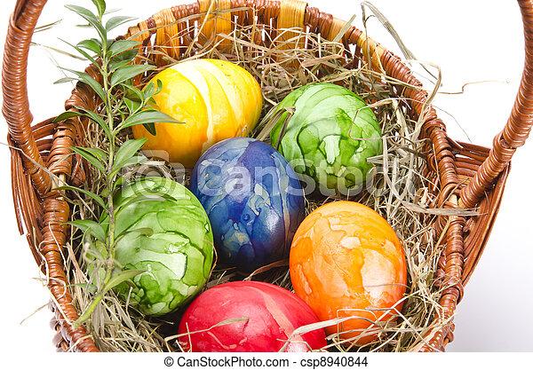 Easter egg - csp8940844