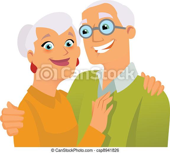 Happy seniors - csp8941826