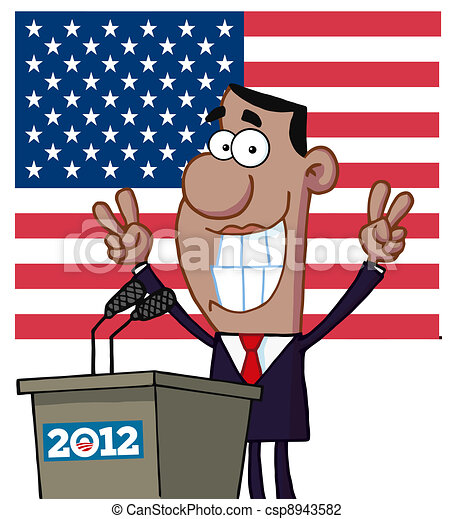 Barack Obama - csp8943582