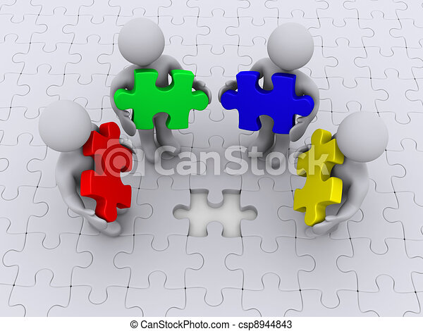 Right color for puzzle completion - csp8944843