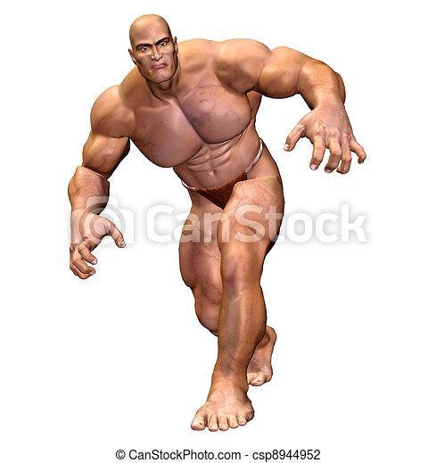 Muscular man Stock Illustrations. 16,125 Muscular man clip art ...