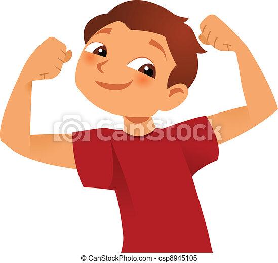 Strong kid - csp8945105