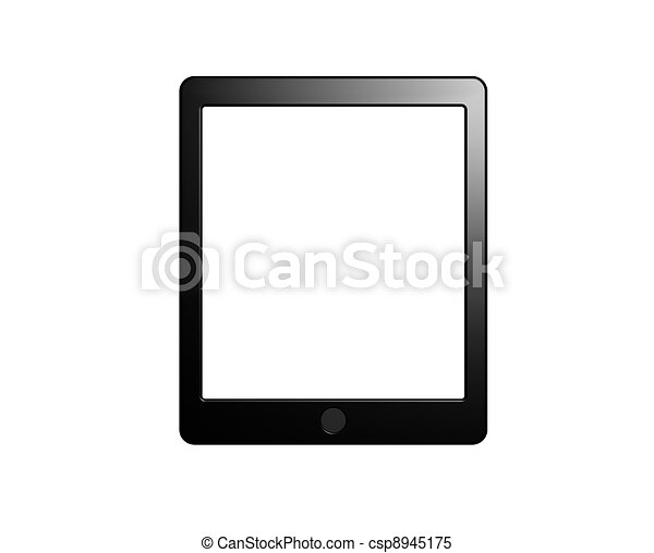 Tablet pad with blank Screen - csp8945175