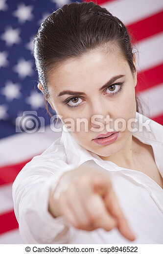 serious american politics - csp8946522