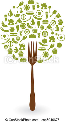 foods tree - csp8946676