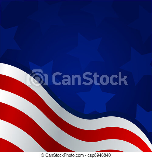 4th of july background - csp8946840