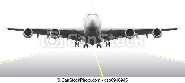 Landing aircraft - csp8946945
