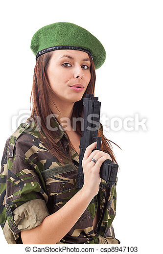 Fre naked girls in military uniform