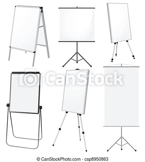 Blank Promotion Stand set - csp8950863