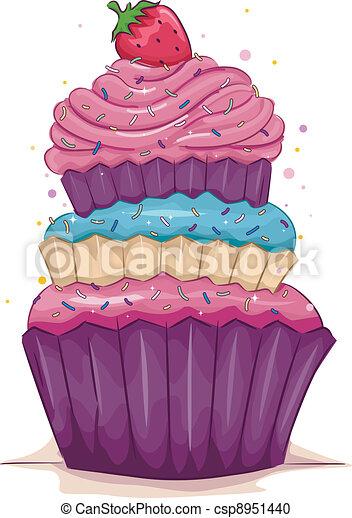 Cupcake - csp8951440